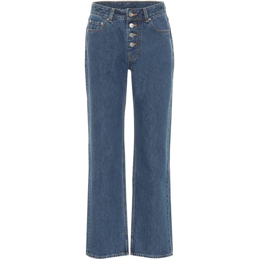 ガニー Ganni レディース ジーンズ・デニム ボトムス・パンツ【mid-rise straight jeans】Denim