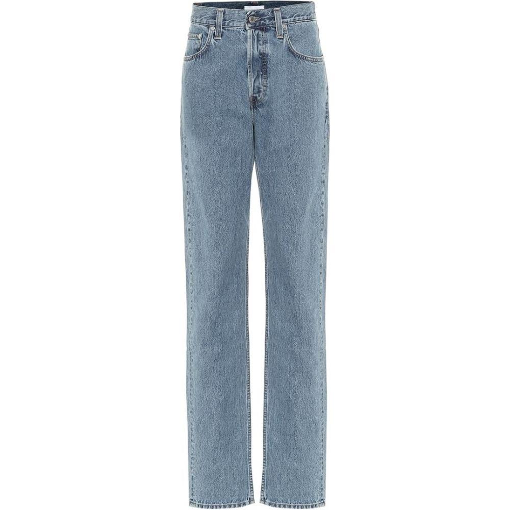 ヘルムート ラング Helmut Lang レディース ジーンズ・デニム ボトムス・パンツ【high-rise straight leg jeans】Indigo