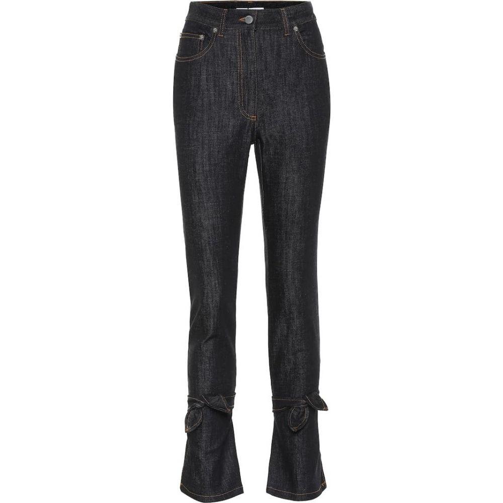 J.W.アンダーソン JW Anderson レディース ジーンズ・デニム ボトムス・パンツ【high-rise slim fit jeans】Indigo