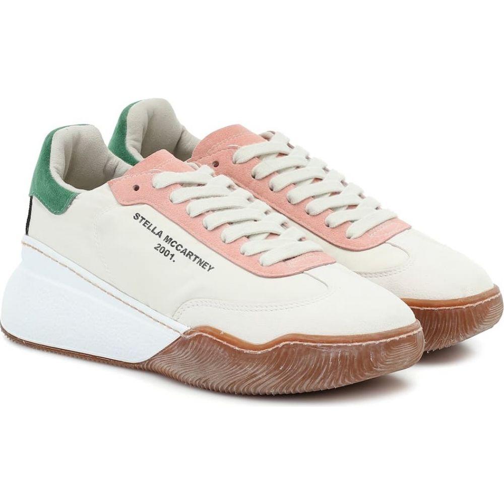 ステラ マッカートニー Stella McCartney レディース スニーカー シューズ・靴【loop sneakers】White/Crea