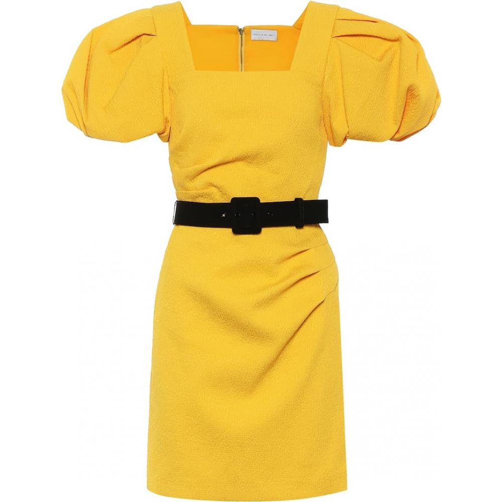 レベッカ ヴァランス Rebecca Vallance レディース パーティードレス ワンピース・ドレス【andie belted minidress】Yellow Mid
