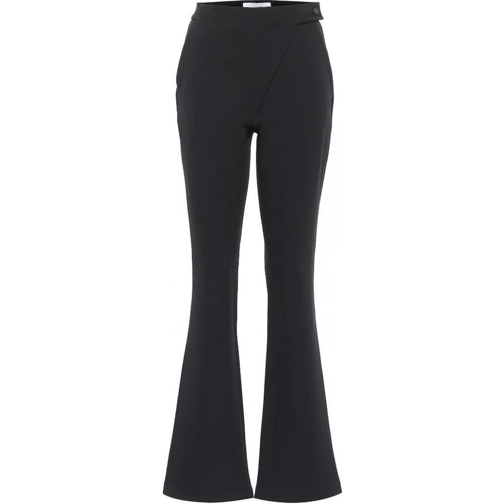 コぺルニ Coperni レディース スキニー・スリム ボトムス・パンツ【High-Rise Slim Fit Flared Pants】Black