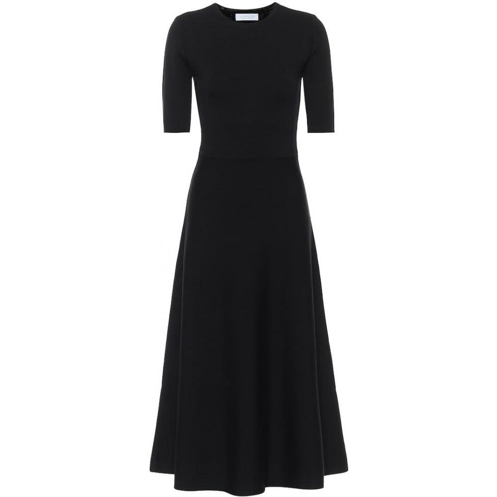【レビューを書けば送料当店負担】 ガブリエラ ハースト Gabriela Hearst レディース ワンピース ミドル丈 ワンピース・ドレス【Geneva Wool-Blend Midi Dress】Black, Toto&Pal ed0de9be