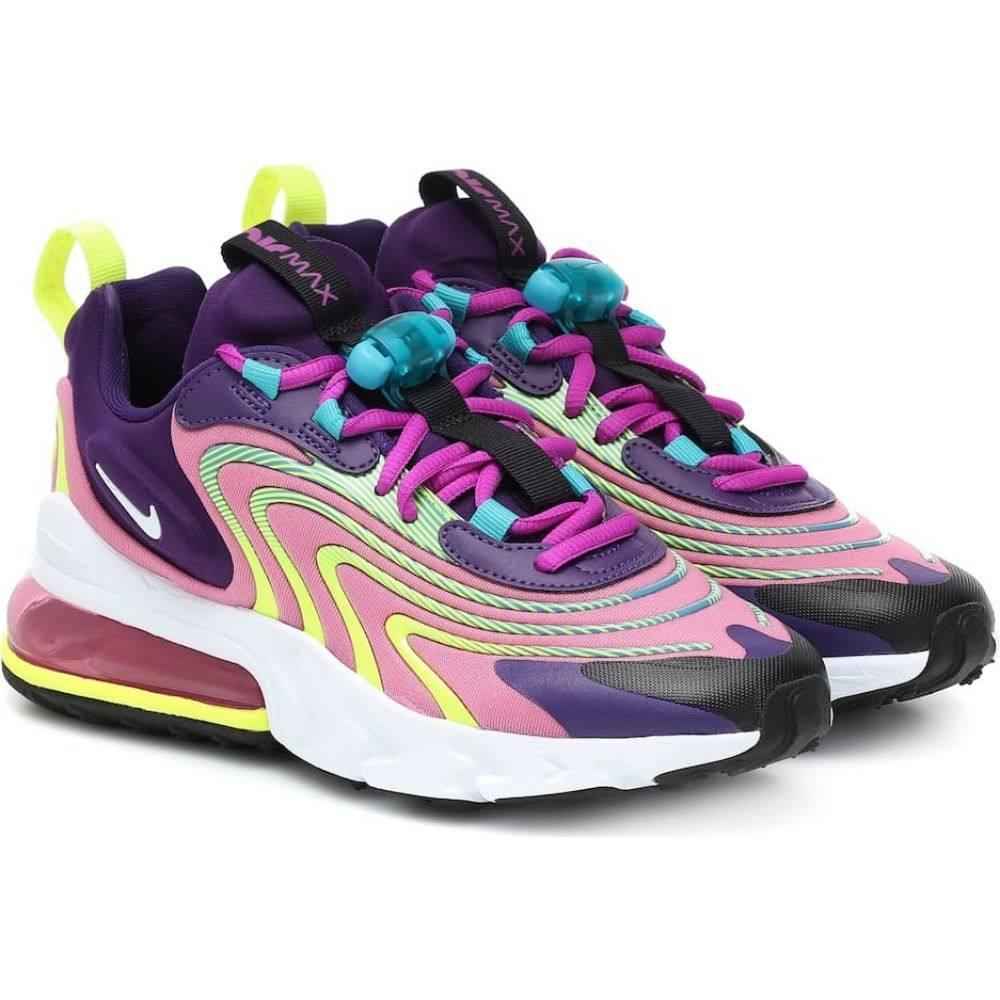 ナイキ Nike レディース スニーカー エアマックス 270 シューズ・靴【Air Max 270 React Sneakers】Egplnt/White