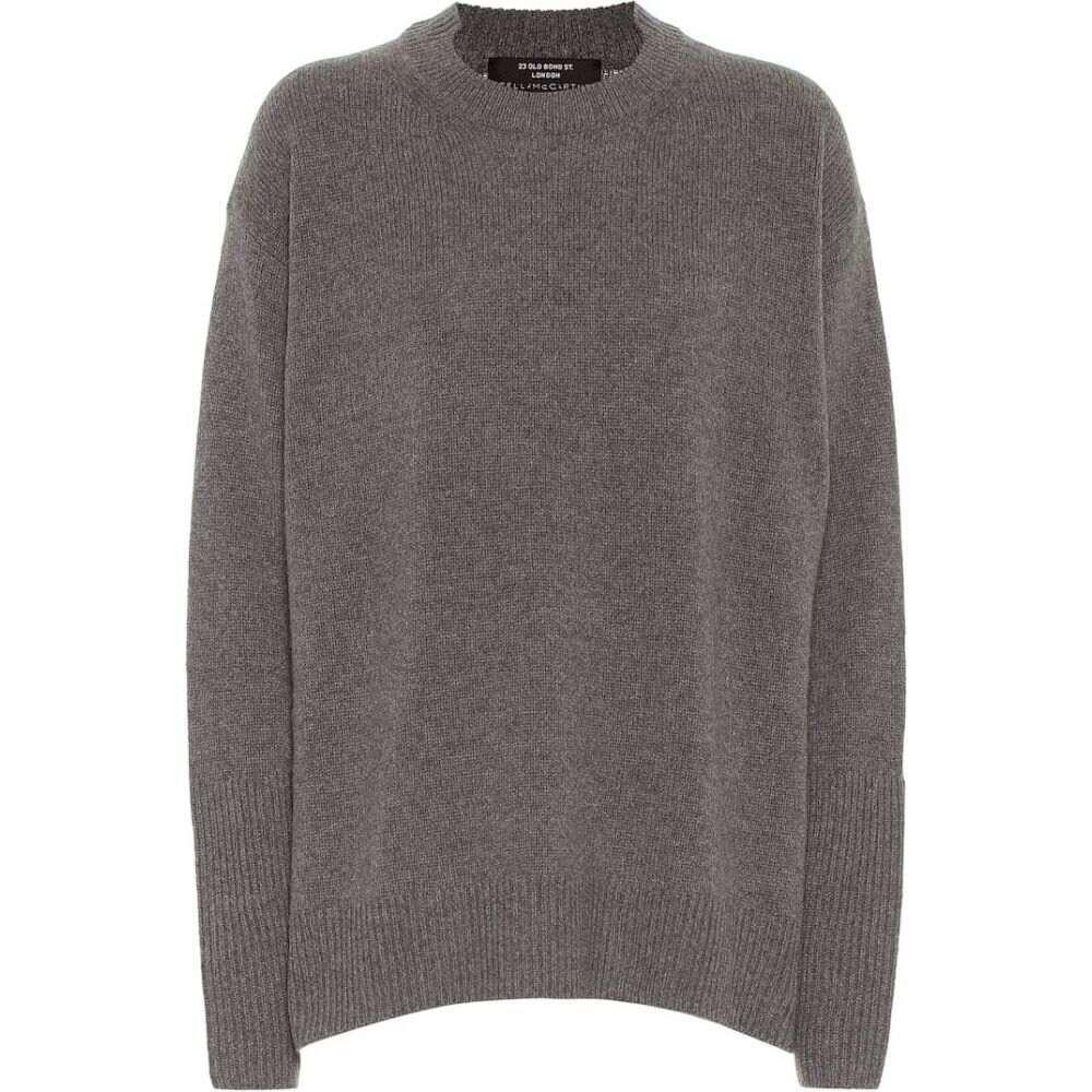 ステラ マッカートニー Stella McCartney レディース ニット・セーター トップス【Wool And Cashmere Sweater】Grey Melange