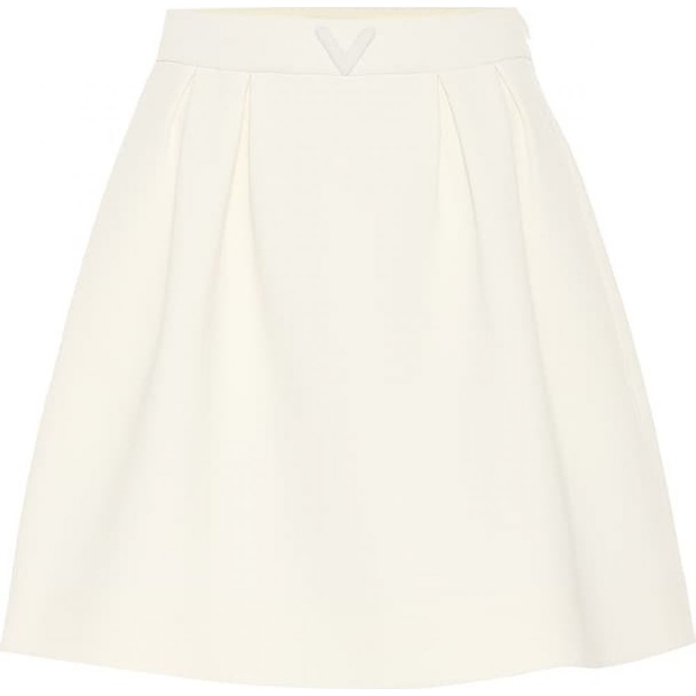 ヴァレンティノ Valentino レディース ミニスカート スカート【Stretch-Wool Miniskirt】Ivory