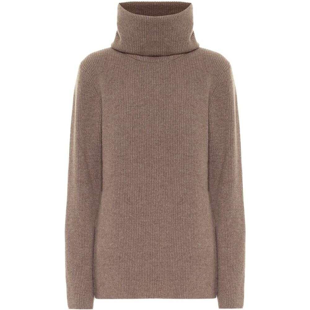 エルネスト レオティ Ernest Leoty レディース ニット・セーター トップス【Ombeline Merino Wool-Blend Sweater】Taupe