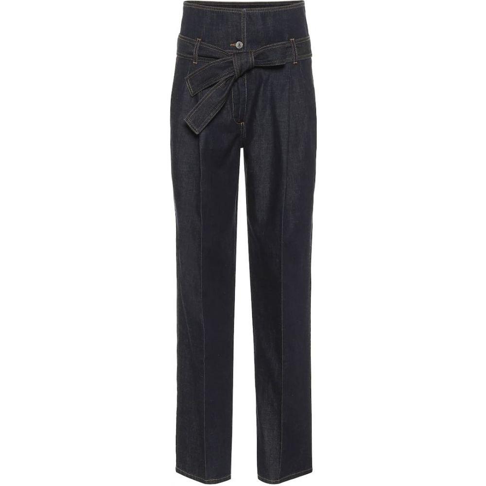 特別価格 ステラ ジーンズ・デニム マッカートニー Stella McCartney レディース ジーンズ・デニム ボトムス Denim・パンツ Straight【High-Rise Straight Paperbag Jeans】Dark Indigo Denim, 四季物屋:bce18e0a --- experiencesar.com.ar