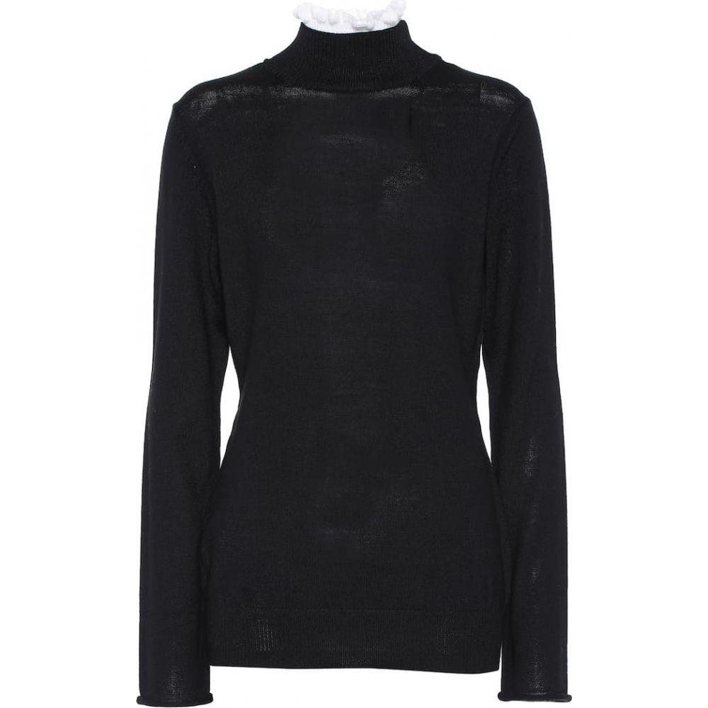 アンダーカバー Undercover レディース ニット・セーター トップス【Wool Turtleneck Sweater】Black