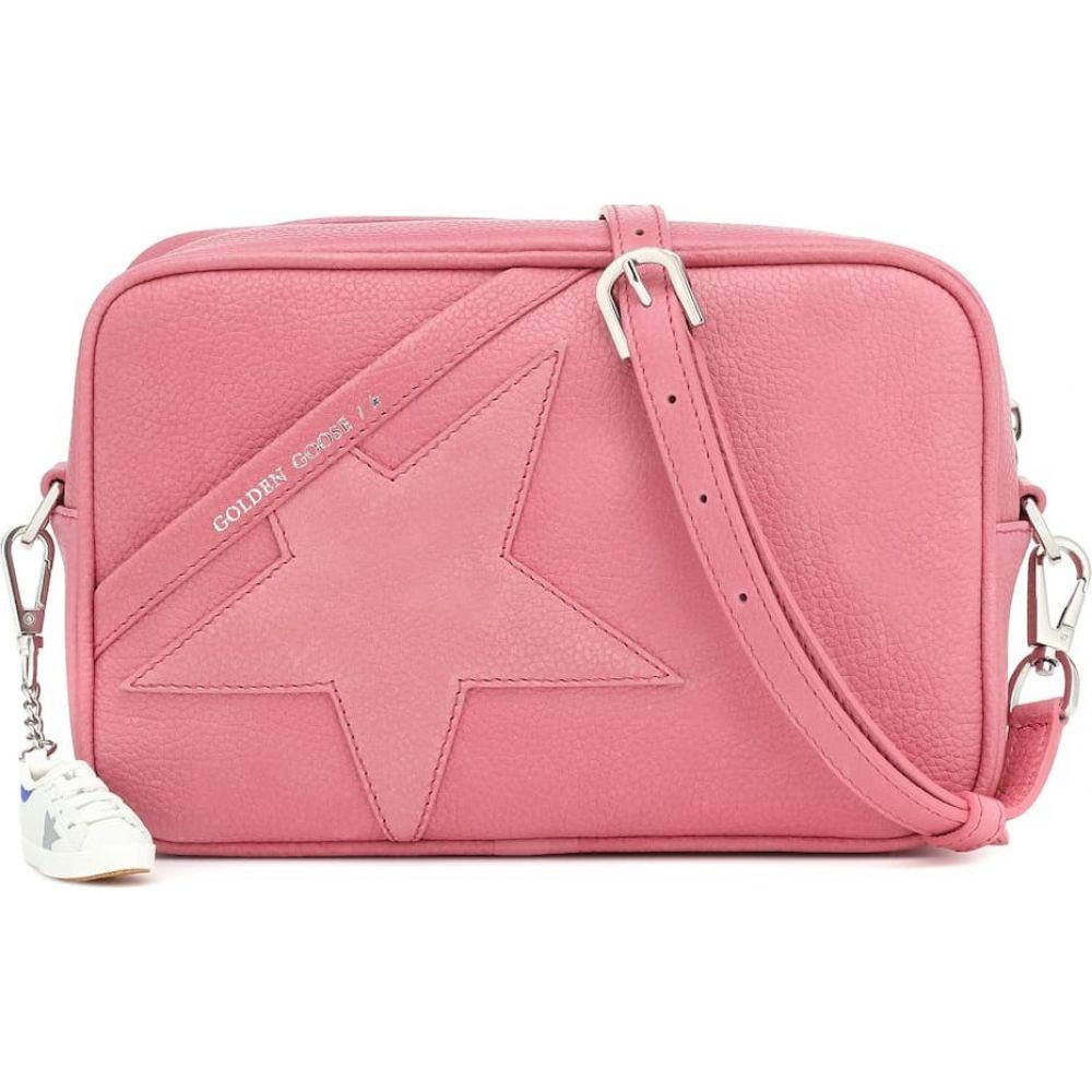 ショルダーバッグ Goose Shoulder バッグ【Star グース ゴールデン レディース Bag】Pink Golden Leather