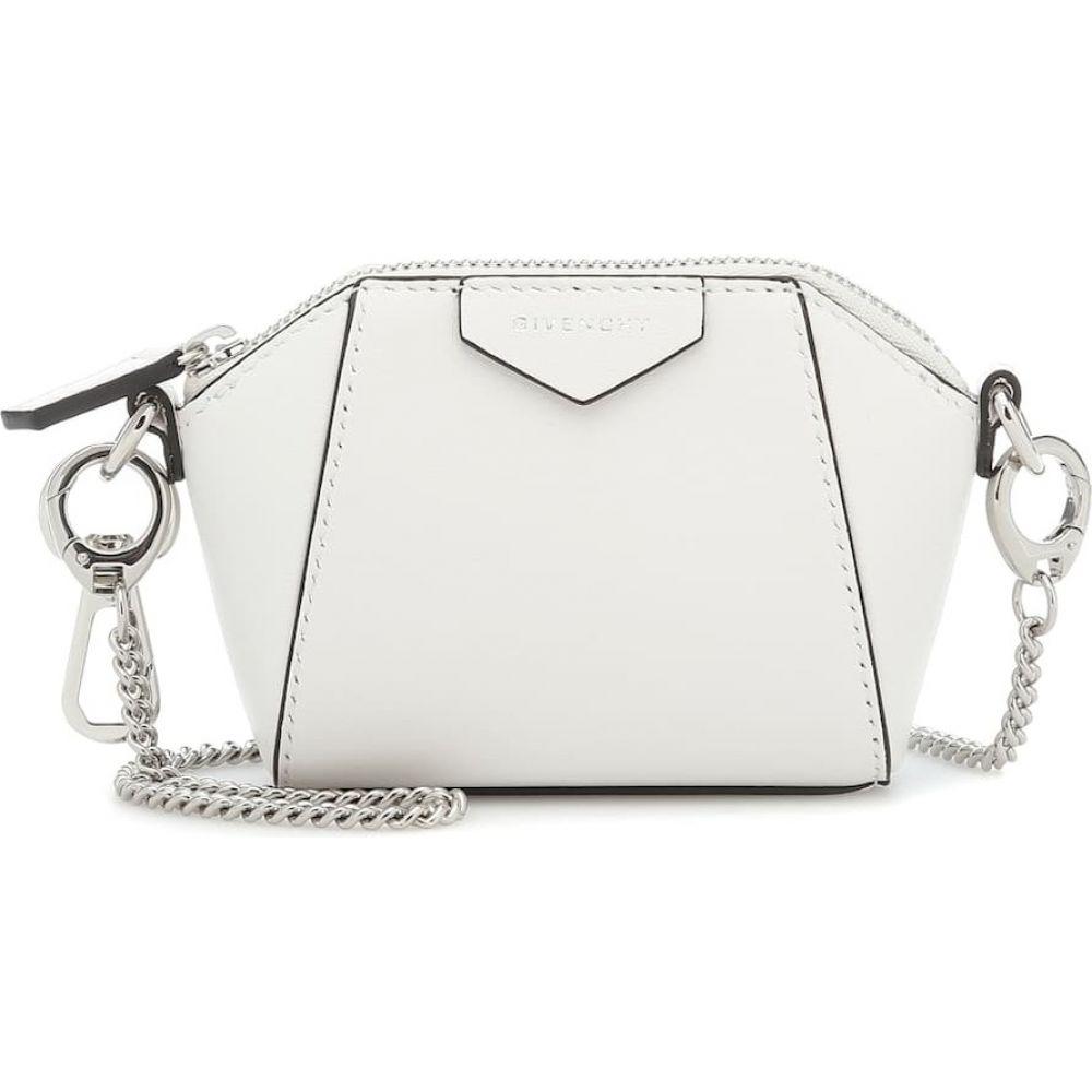 ジバンシー レディース バッグ ショルダーバッグ サイズ交換無料 Givenchy Baby Bag 正規販売店 White オンラインショッピング Leather Crossbody Antigona