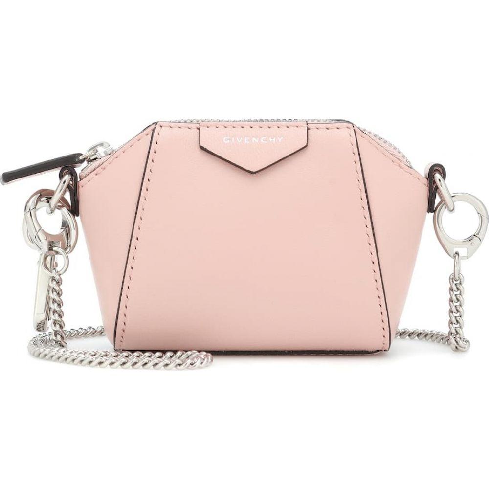 今だけスーパーセール限定 受賞店 ジバンシー レディース バッグ ショルダーバッグ サイズ交換無料 Givenchy Antigona Baby Pink Bag Candy Crossbody Leather