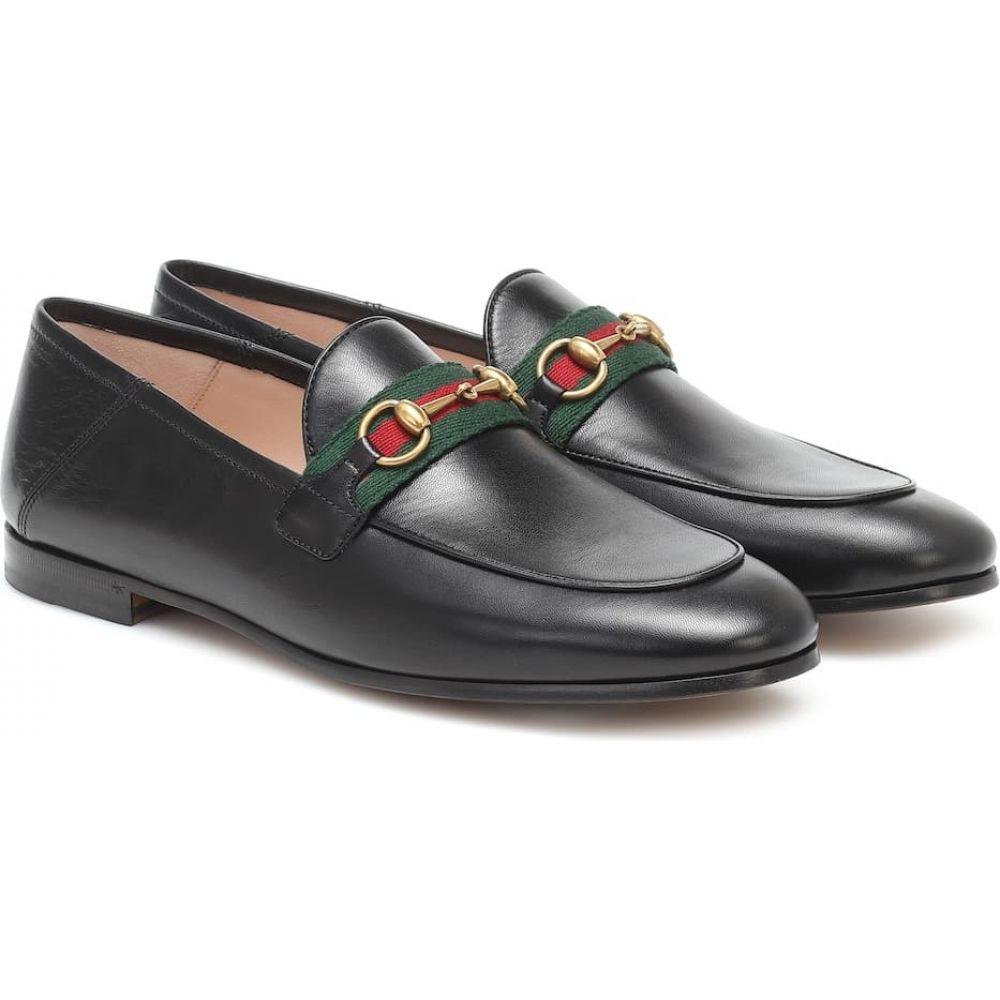 【当店一番人気】 グッチ Gucci レディース ローファー Gucci・オックスフォード グッチ シューズ・靴 Leather【Horsebit Leather Loafers】Nero, モアスノー:e17c3e64 --- briefundpost.de