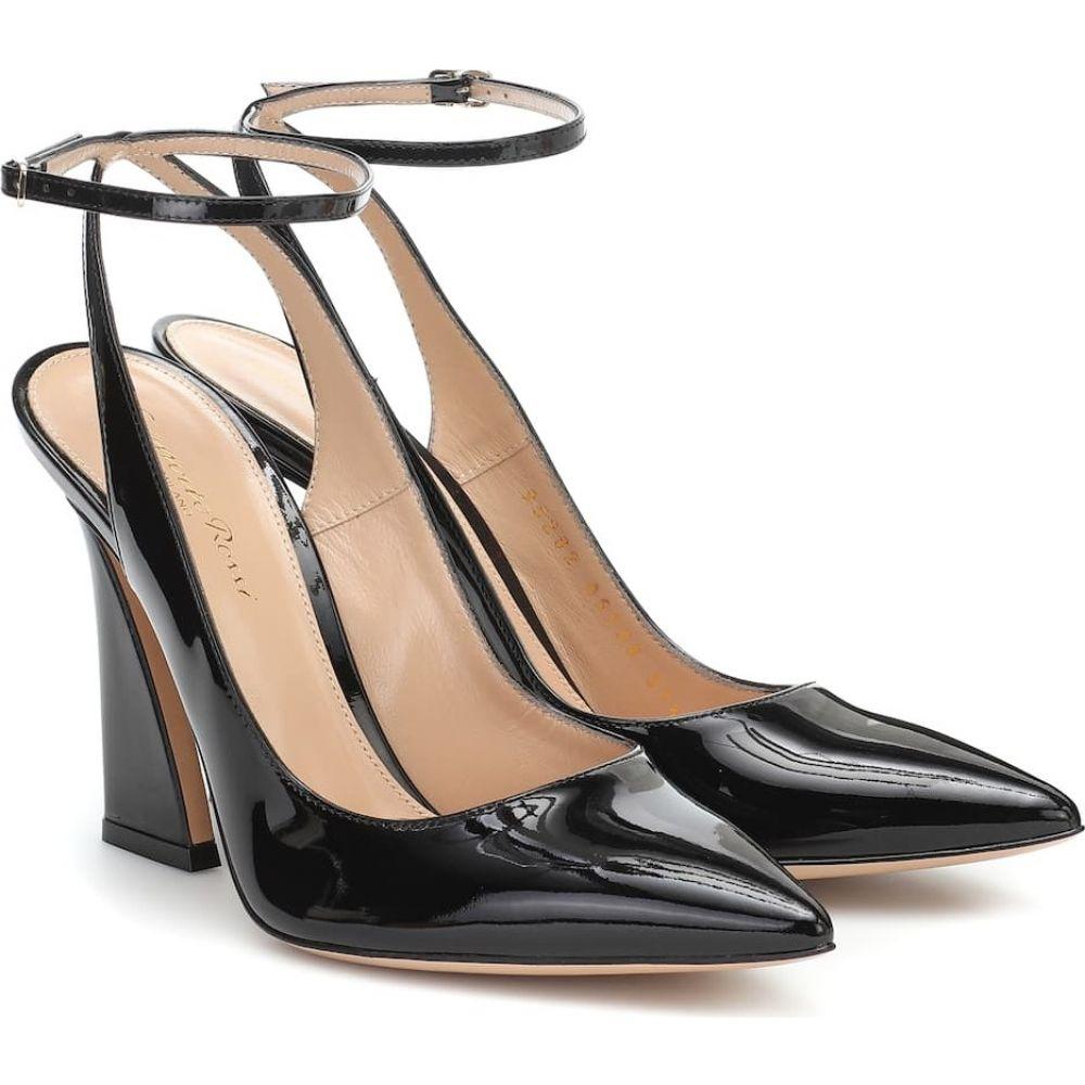 全日本送料無料 ジャンヴィト ロッシ レディース Gianvito Rossi レディース Leather パンプス シューズ・靴 Patent【Aura 105 Patent Leather Pumps】Black, 種子島もぎたて屋:4aa95fee --- briefundpost.de