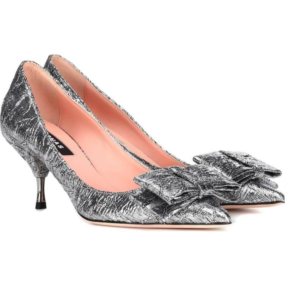 <title>ロシャス レディース 別倉庫からの配送 シューズ 靴 パンプス サイズ交換無料 Rochas brocade pumps Silver</title>