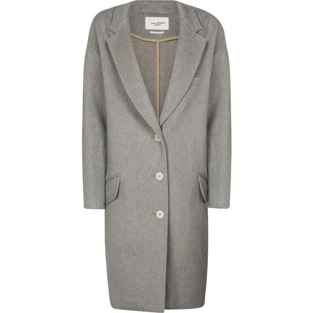 <title>イザベル マラン レディース アウター コート サイズ交換無料 Isabel Marant Etoile 全品送料無料 Limi wool-blend coat Greyish Blue</title>