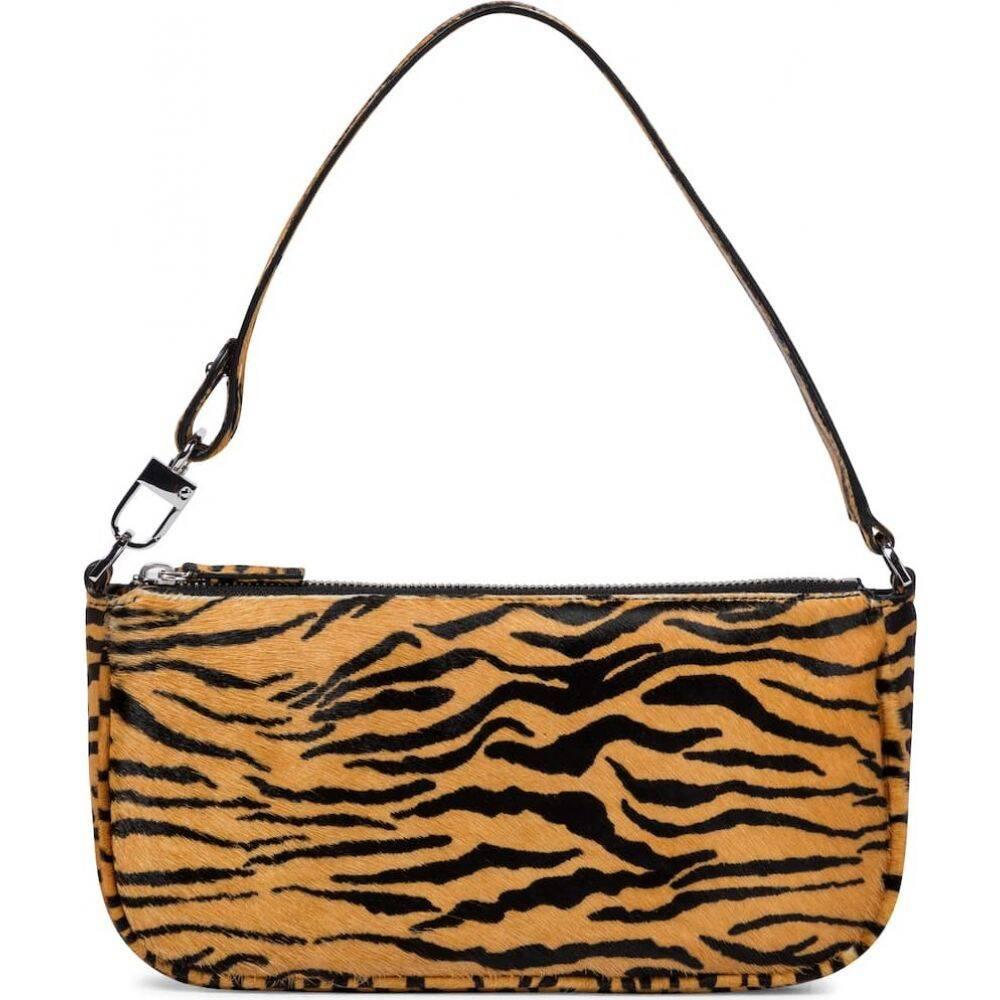 バイ ファー レディース バッグ ショルダーバッグ サイズ交換無料 By 入荷予定 送料無料激安祭 Far bag Print Tiger tiger-print shoulder calf hair Rachel