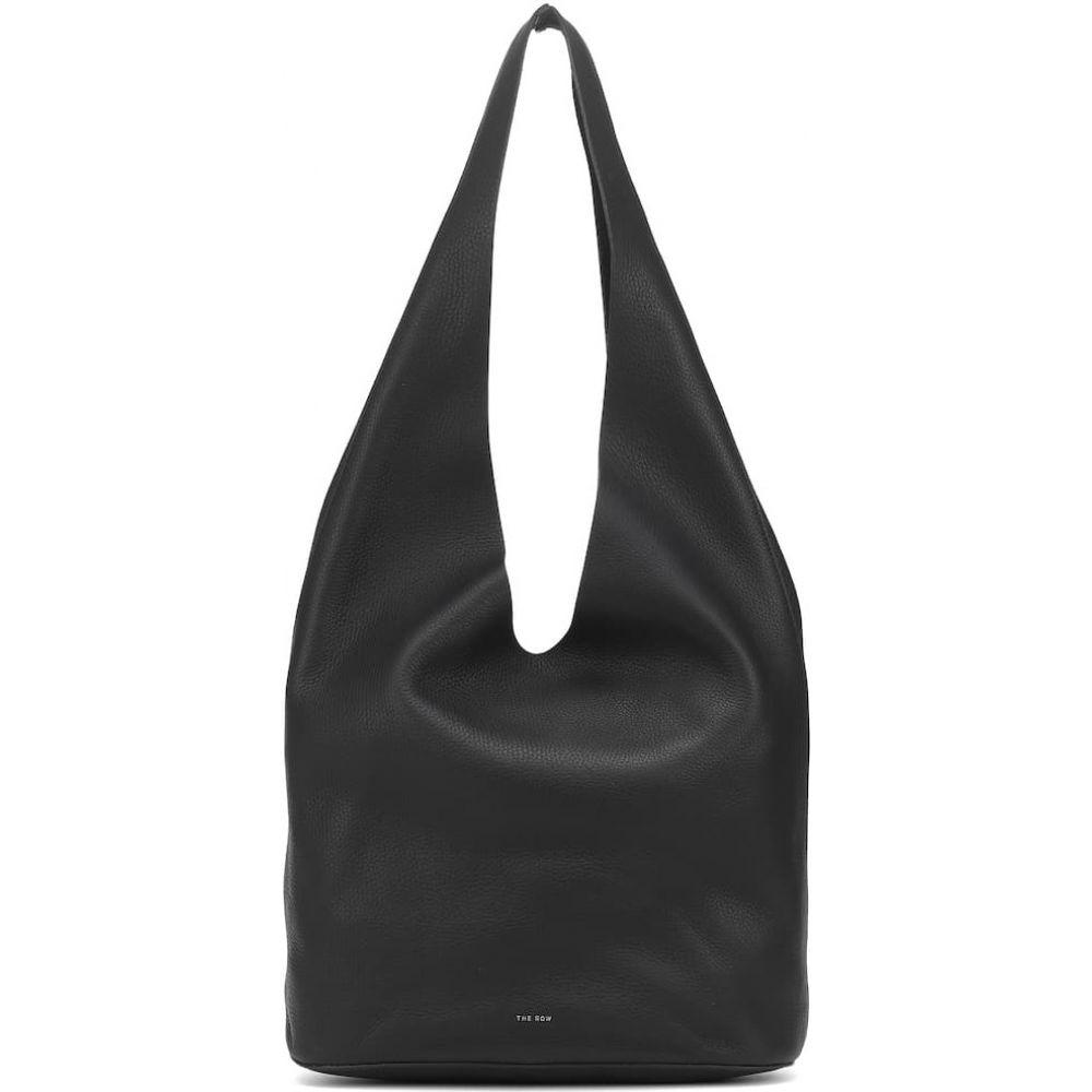 ザ ロウ レディース バッグ トートバッグ サイズ交換無料 The 入荷予定 Row Bindle 返品送料無料 Black tote leather Three