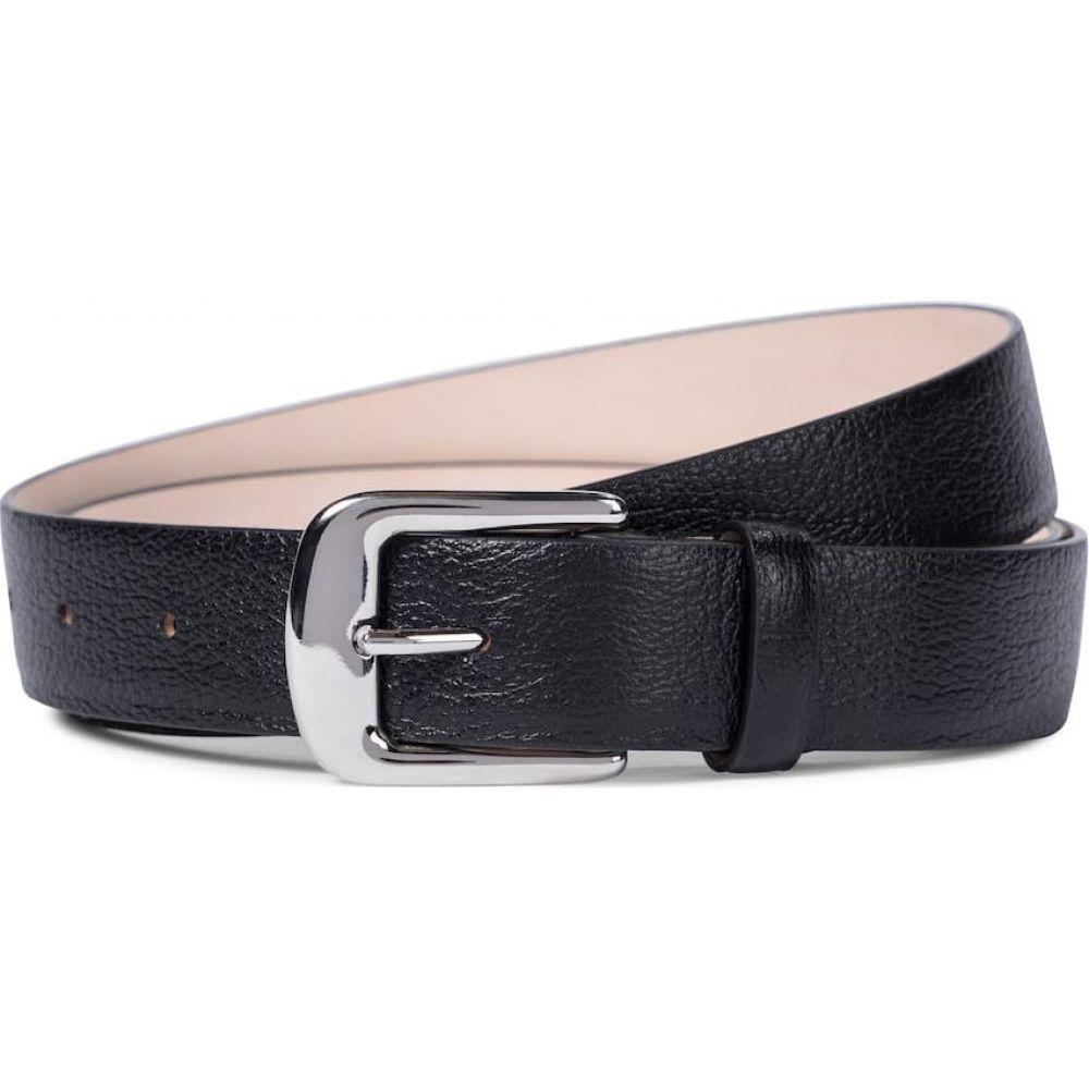 メゾン マルジェラ レディース 迅速な対応で商品をお届け致します ファッション小物 SALE ベルト サイズ交換無料 Maison Black Leather Margiela belt