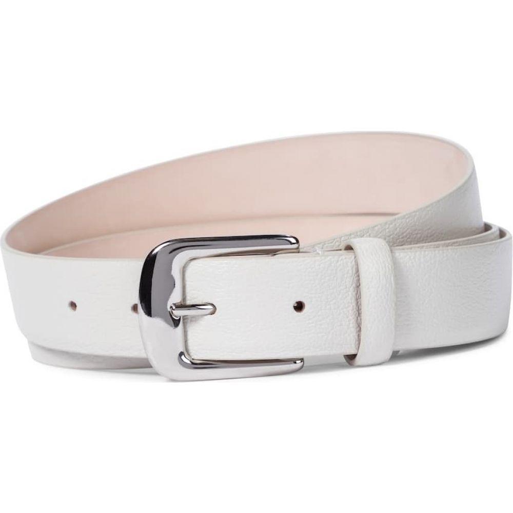 メゾン マルジェラ レディース ファッション小物 ベルト サイズ交換無料 Leather belt 豪華な Margiela Greige トラスト Maison