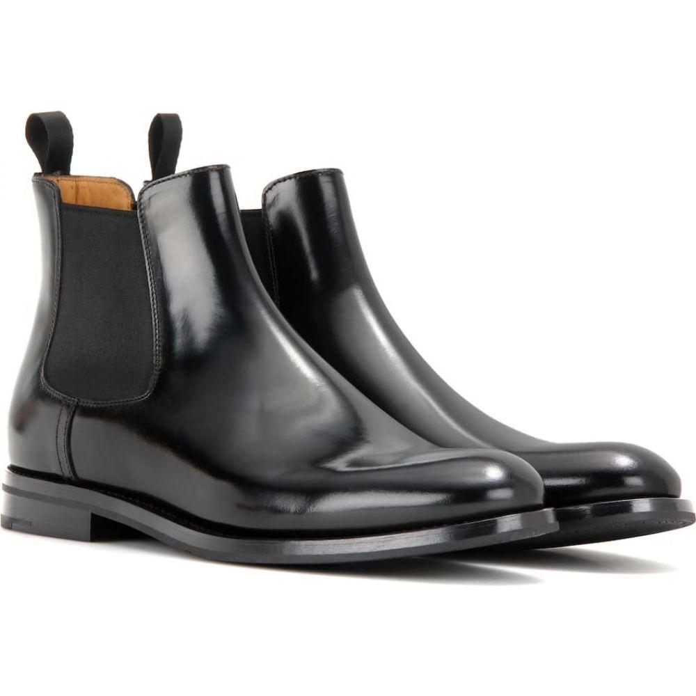 超特価SALE開催! チャーチ Church's レディース ブーツ チェルシーブーツ シューズ・靴【monmouth leather chelsea boots】Black, フロアマット販売アルティジャーノ 5ef0d814
