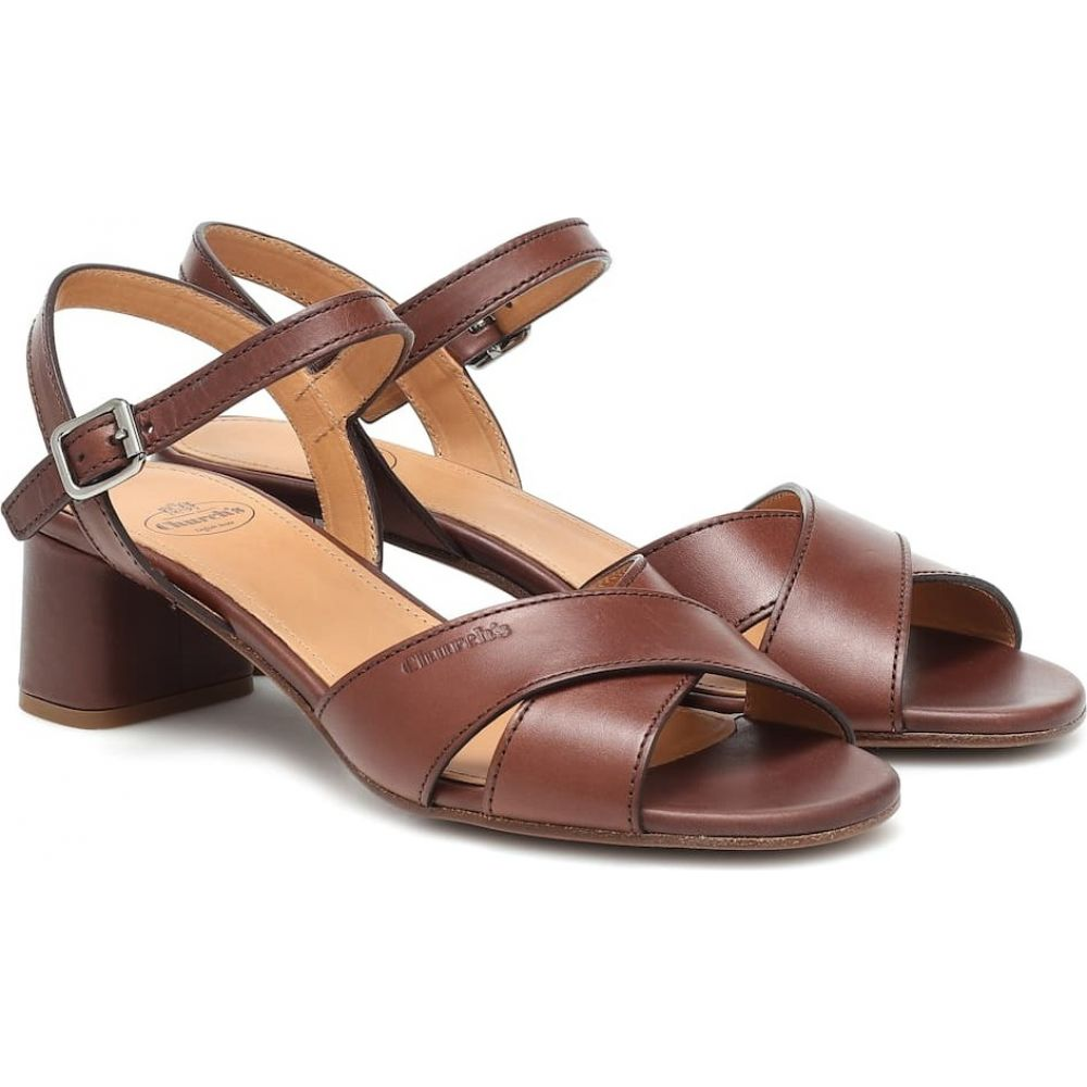 【代引可】 チャーチ Church's レディース サンダル・ミュール シューズ・靴【dolly leather sandals】Mid Brown, 京田辺市 20b3cc35
