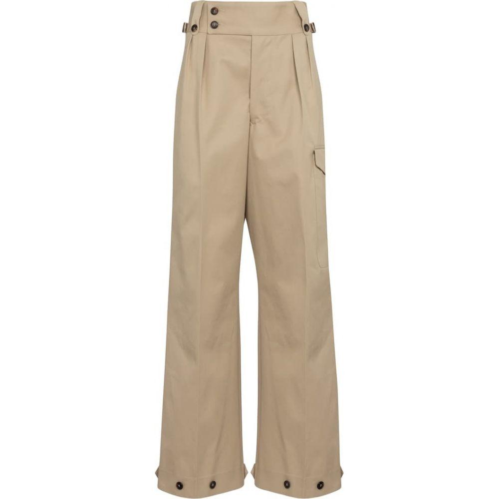 新品入荷 メゾン マルジェラ Maison Margiela レディース ボトムス【high-rise・パンツ pants】Beige【high-rise straight マルジェラ cotton pants】Beige, 金山町:a7aff780 --- online-cv.site