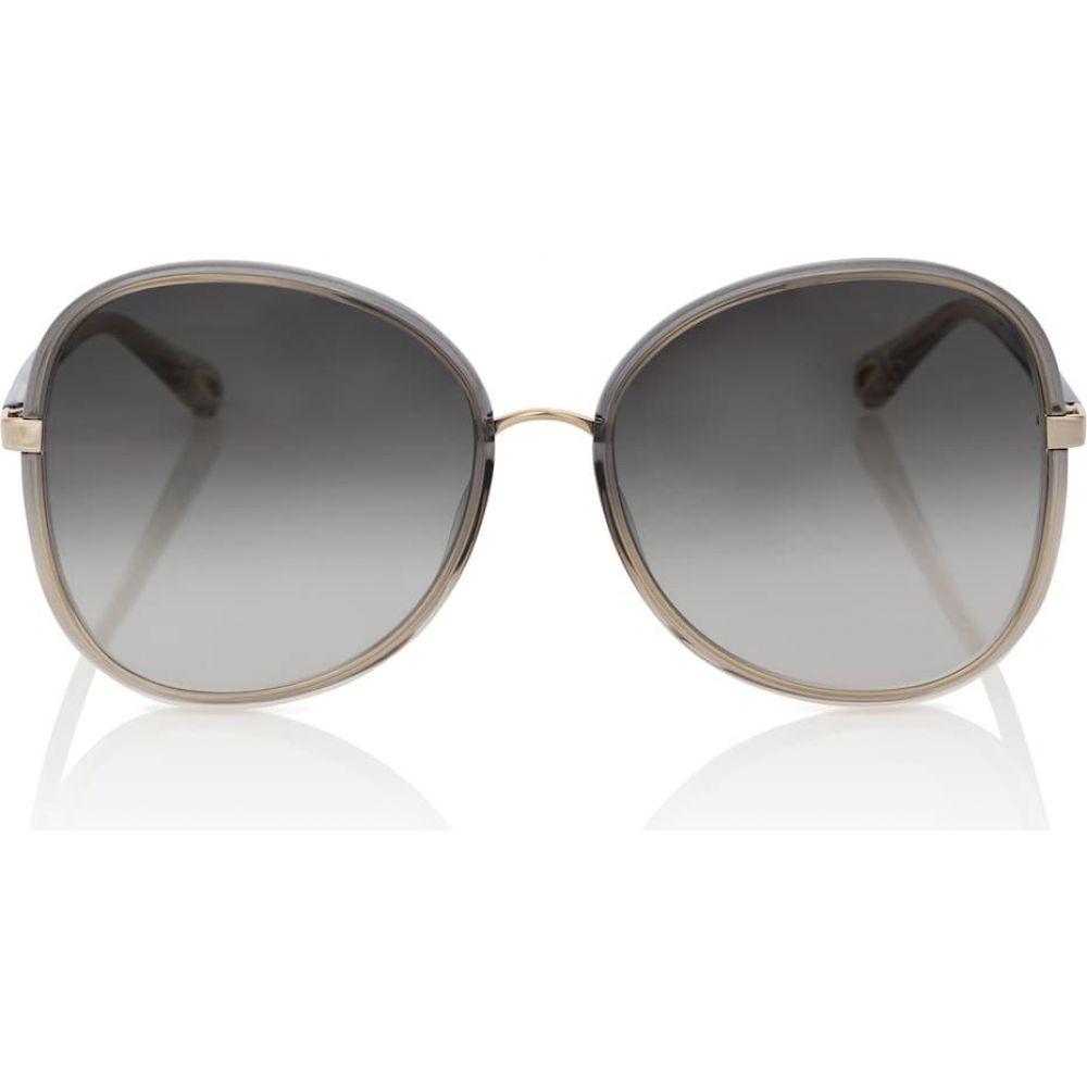 クロエ Chloe レディース メガネ·サングラス ラウンド【franky oversized round sunglasses】