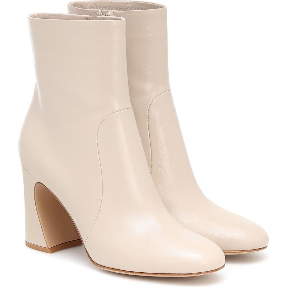 超爆安 ジャンヴィト ロッシ ankle Gianvito Rossi ブーツ レディース ブーツ ショートブーツ シューズ・靴 boots】Mousse【leather ankle boots】Mousse, ホソエチョウ:3db64e1d --- atakoyescortlar.com