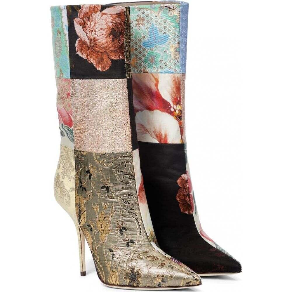 100%正規品 ドルチェ&ガッバーナ Dolce Gabbana & Gabbana レディース ブーツ ankle ショートブーツ シューズ・靴 ブーツ【Patchwork ankle boots】Multicolor, GALLUP/ギャラップ:ed9a1572 --- kidsarena.in