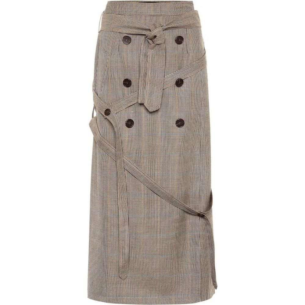スカート wool ロック レディース skirt】Dogtooth 【Houndstooth Rokh