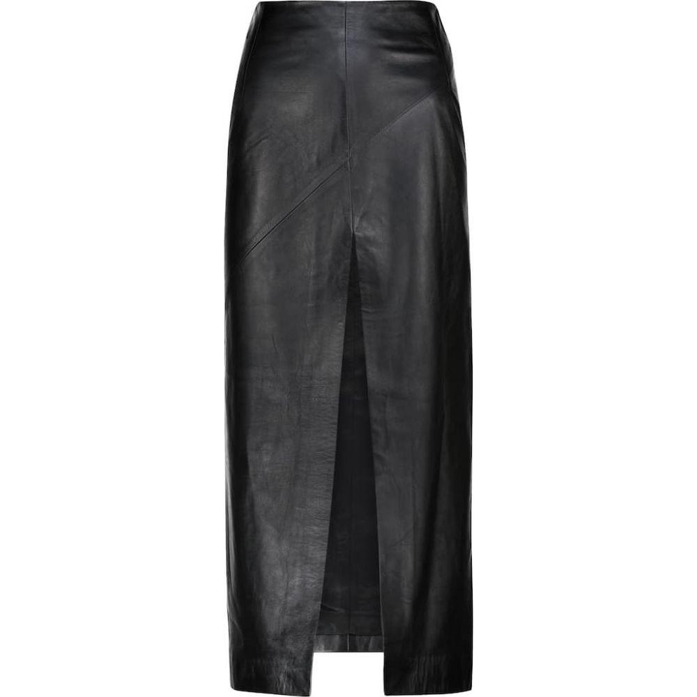 当季大流行 ドド バー オア スカート Dodo Bar Or バー レディース スカート レディース【High-rise leather skirt】Black, 無農薬栽培食品 スローフーズ:a6b0fb1a --- fotostrba.sk