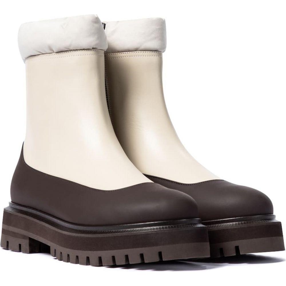 【コンビニ受取対応商品】 ロロピアーナ Loro Piana レディース スキー Piana・スノーボード leather boots】Concrete ショートブーツ ブーツ シューズ・靴【Hyde leather ankle boots】Concrete, TKP暮らしの必需品Shop:6b822724 --- easassoinfo.bsagroup.fr