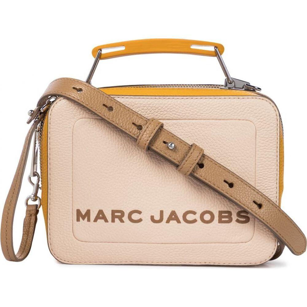 マーク ジェイコブス Marc Jacobs レディース ショルダーバッグ バッグ【The Colorblocked Mini Box bag】Apricot Beige Multi