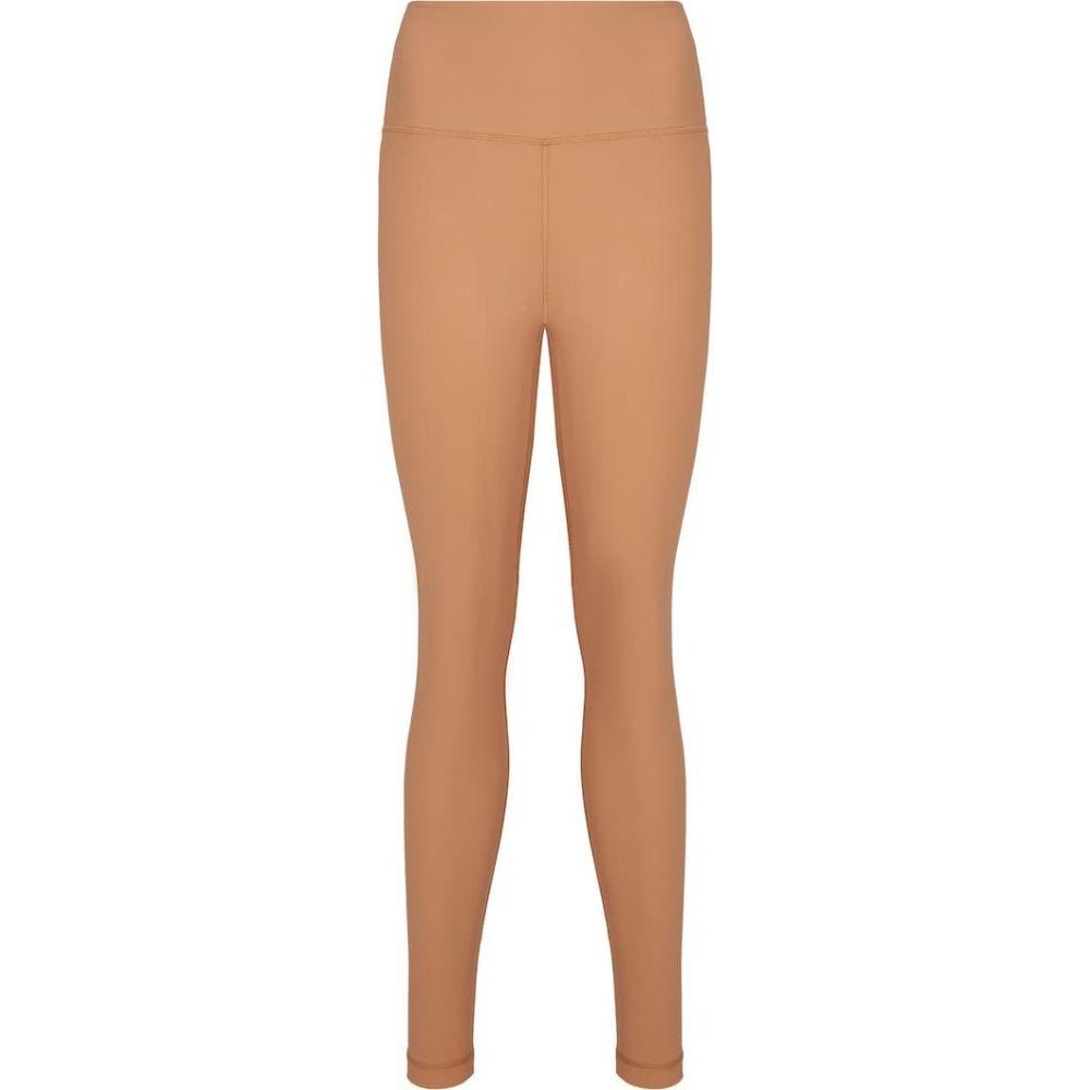 ワードローブ ニューヨーク WARDROBE.NYC レディース スパッツ・レギンス インナー・下着【Release 02 stretch-jersey leggings】Camel