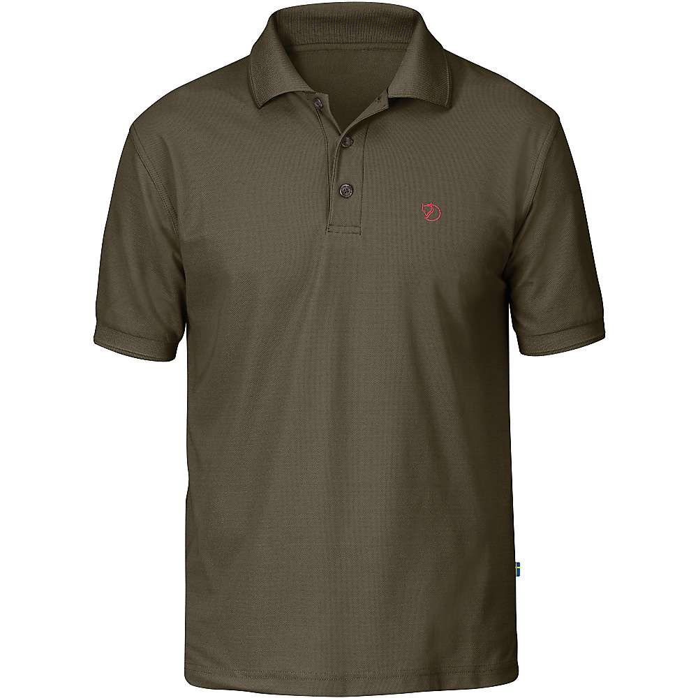 フェールラーベン Fjallraven メンズ ハイキング・登山 トップス【Crowley Pique SS Shirt】Tarmac