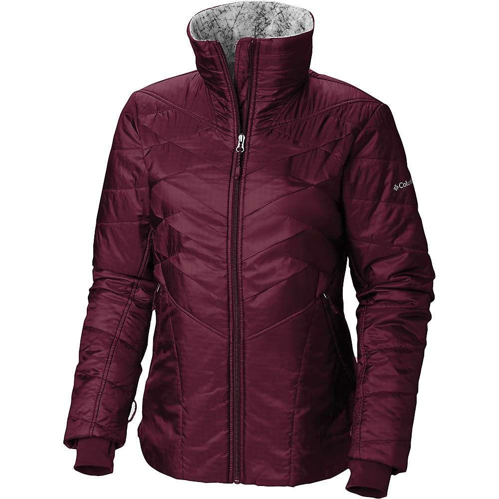 コロンビア Columbia レディース スキー・スノーボード アウター【Kaleidaslope II Jacket】Rich Wine