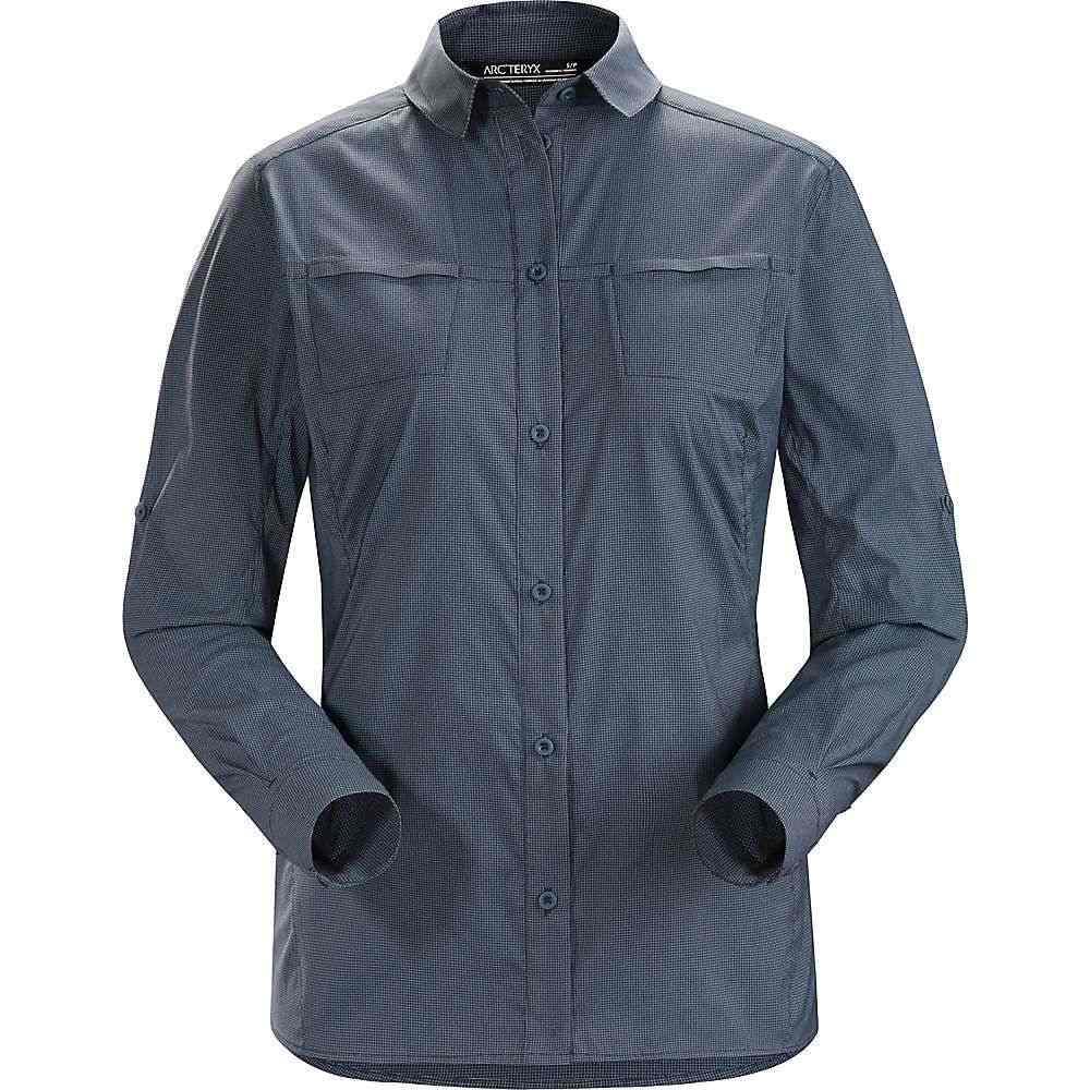 アークテリクス Arcteryx レディース ハイキング・登山 トップス【Fernie LS Shirt】Black Sapphire