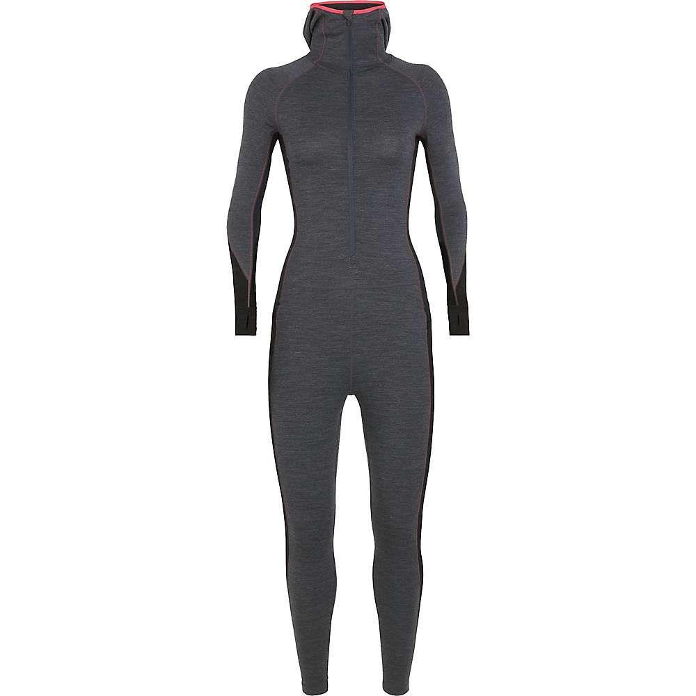 アイスブレーカー Icebreaker レディース ハイキング・登山 トップス【200 Zone One Sheep Suit】Jet Heather / Black / Prism