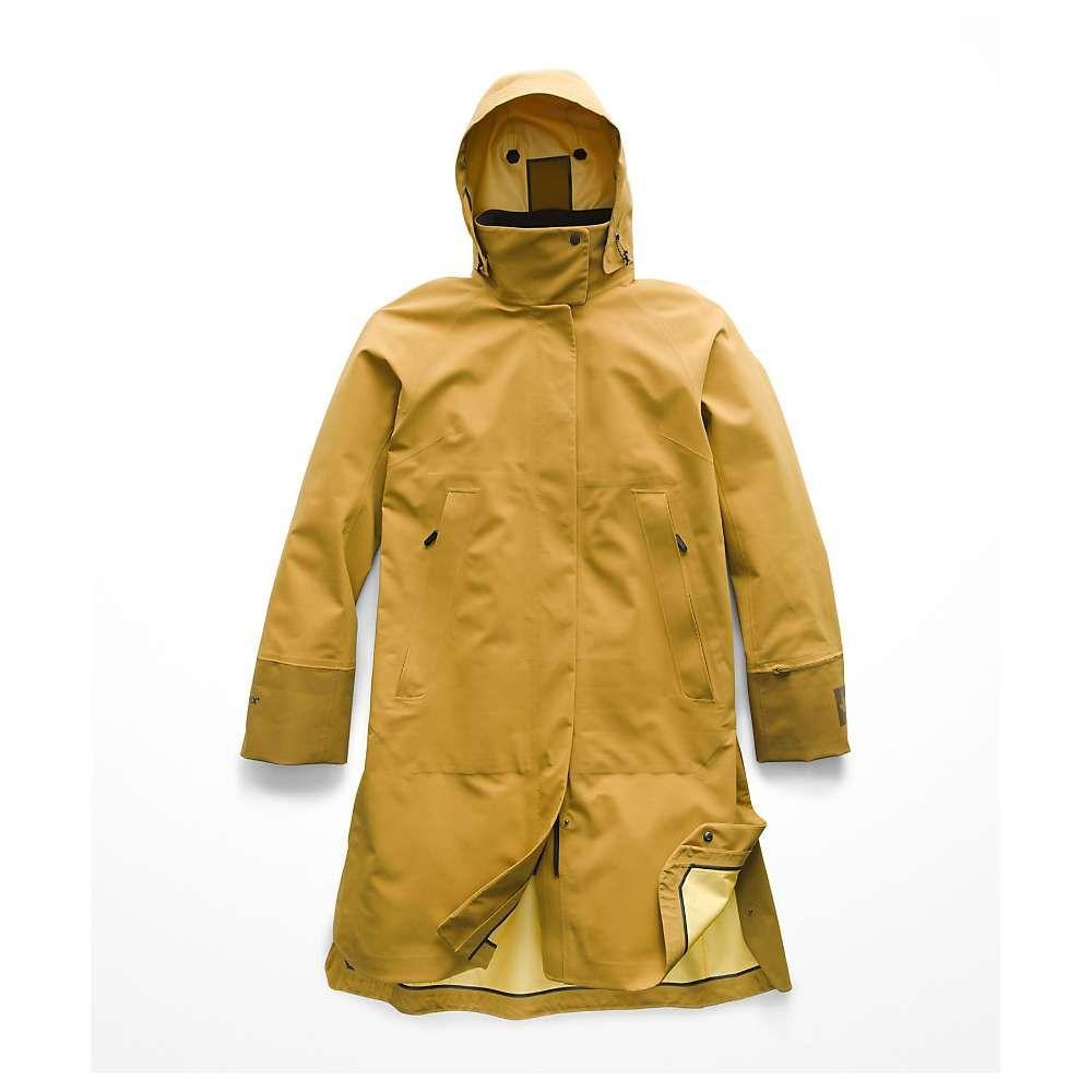 ザ ノースフェイス The North Face レディース アウター レインコート【Cryos 3L Big E Mac GTX Jacket】Bronze Mist / Plantation Green