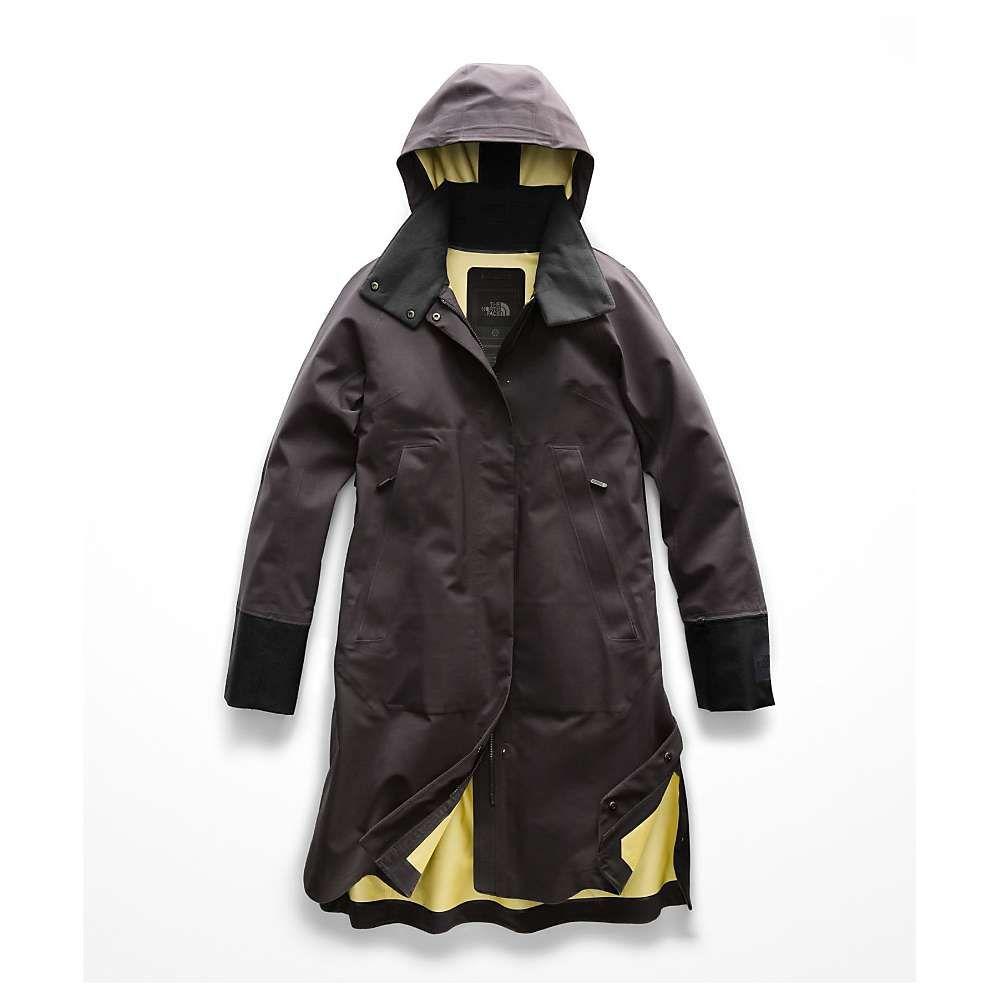 ザ ノースフェイス The North Face レディース アウター レインコート【Cryos 3L Big E Mac GTX Jacket】Weathered Black / TNF Black