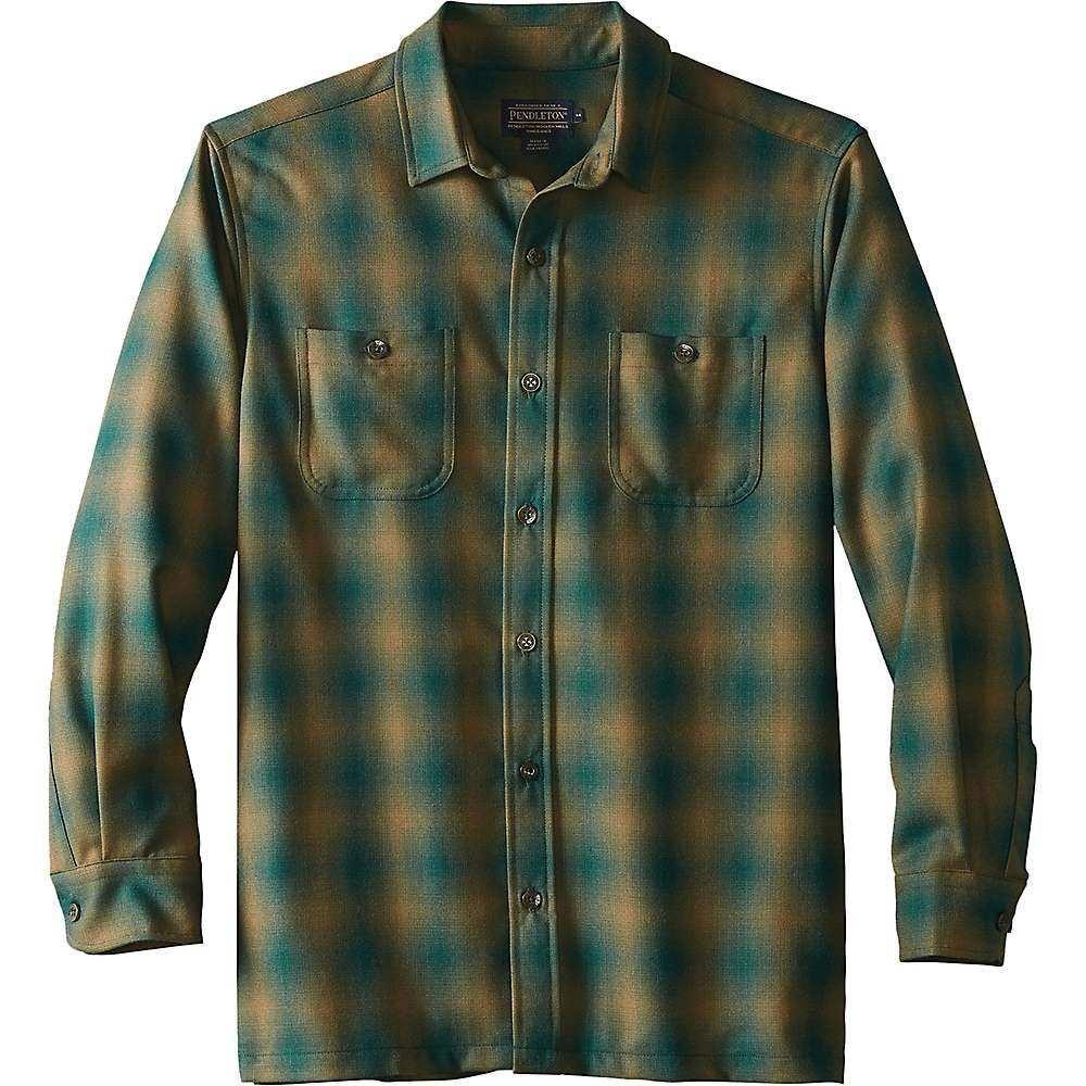ペンドルトン Pendleton メンズ ハイキング・登山 トップス【Wool Flannel】Green/Olive Ombre
