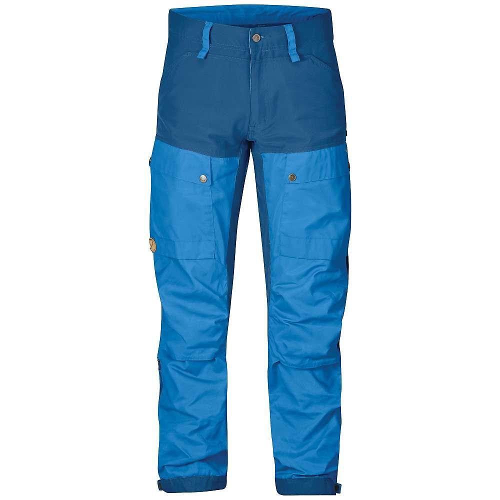 フェールラーベン Fjallraven メンズ ハイキング・登山 ボトムス・パンツ【Keb Trouser】UN Blue / Uncle Blue
