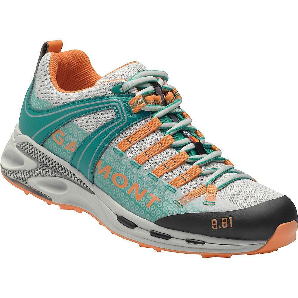 ガルモント Garmont レディース ハイキング・登山 シューズ・靴【9.81 Speed III Shoe】Light Grey / Teal Green