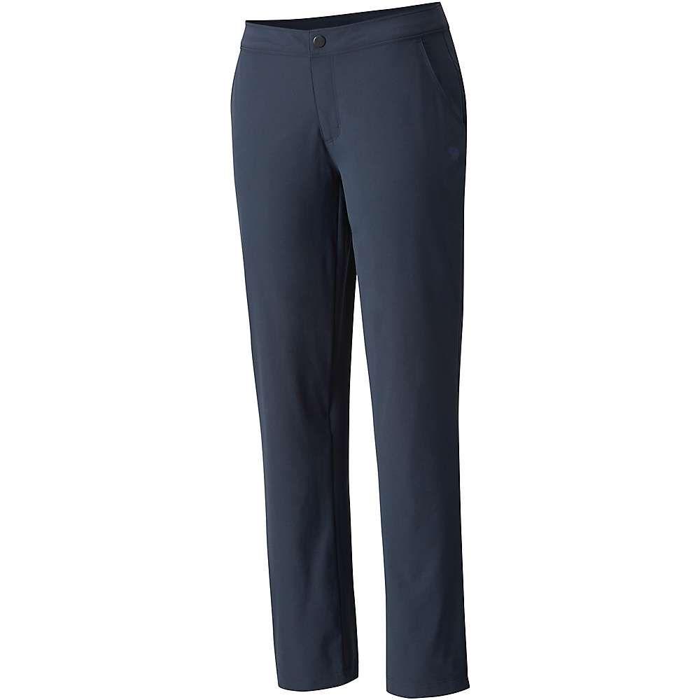 マウンテンハードウェア Mountain Hardwear レディース ハイキング・登山 ボトムス・パンツ【Right Bank Lined Pant】Inkwell
