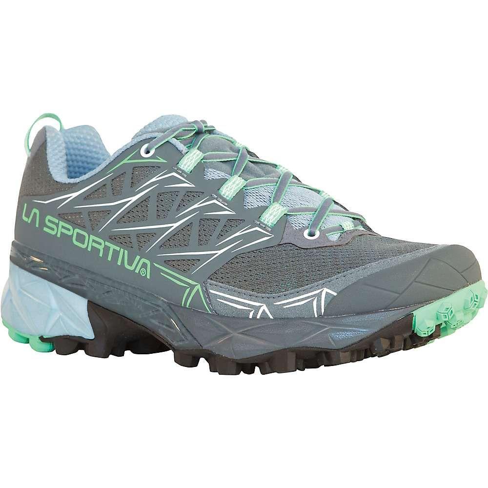 ラスポルティバ La Sportiva レディース ランニング・ウォーキング シューズ・靴【Akyra Shoe】Slate / Jade Green
