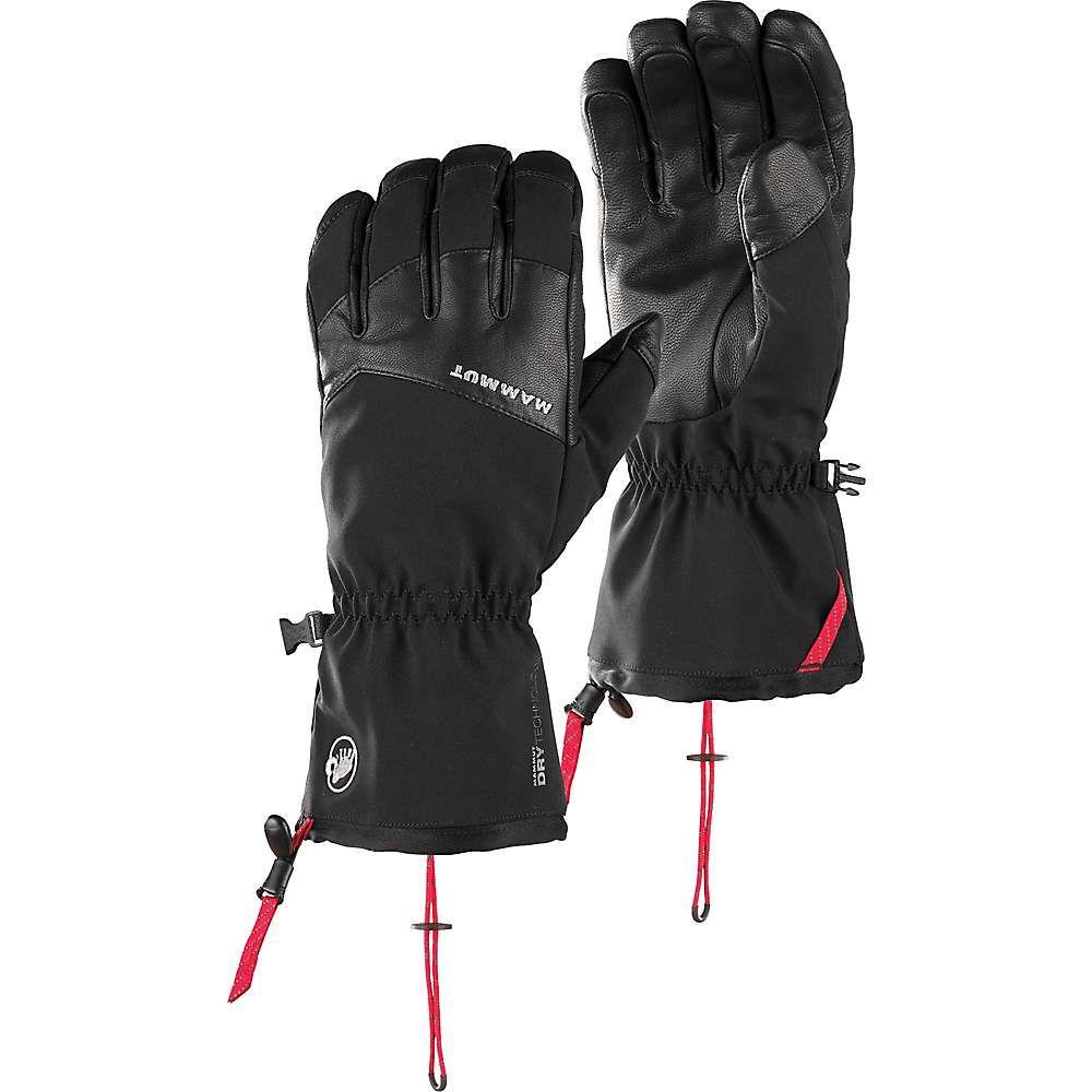 マムート Mammut メンズ スキー・スノーボード グローブ【Stoney Advanced Glove】Black