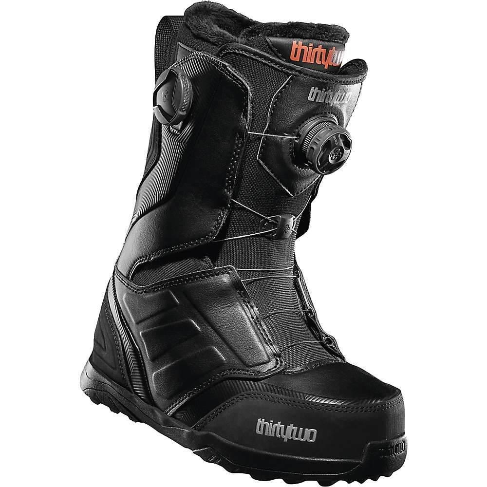サーティーツー Thirty Two レディース スキー・スノーボード シューズ・靴【Lashed Double BOA Snowboard Boot】Black