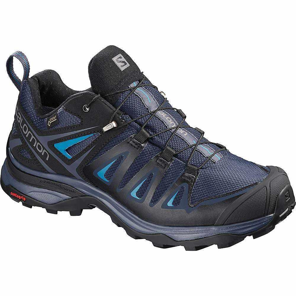 サロモン Salomon レディース ハイキング・登山 シューズ・靴【X Ultra 3 GTX Shoe】Medieval Blue / Black / Hawaiian Surf