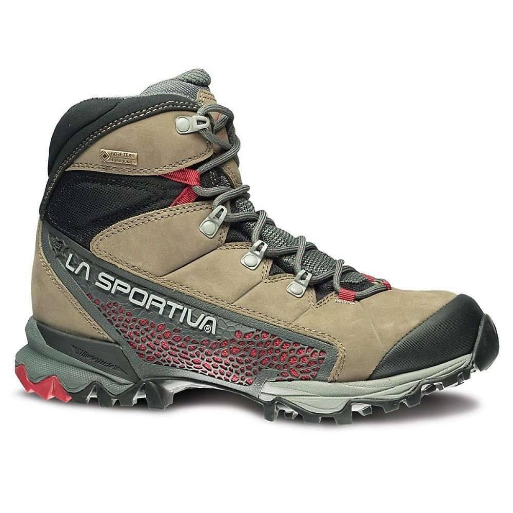 ラスポルティバ La Sportiva レディース ハイキング・登山 シューズ・靴【Nucleo High GTX Boot】Taupe / Berry